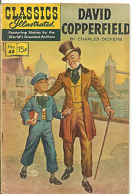 Classics Illustrated #48 - VG - David Copperfield by Charles Dickens