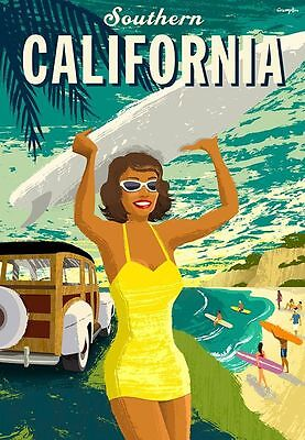 Vintage TRAVEL POSTERS - Gift - A4 - Retro Prints - Home - Wall Art Decor-