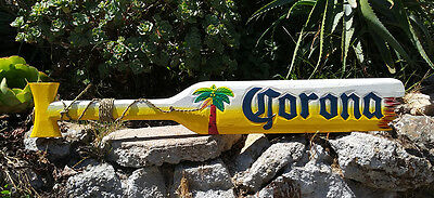 CORONA Wood Paddle Beer Sign Nautical Tiki Bar Sign Pub Man Cave 39""