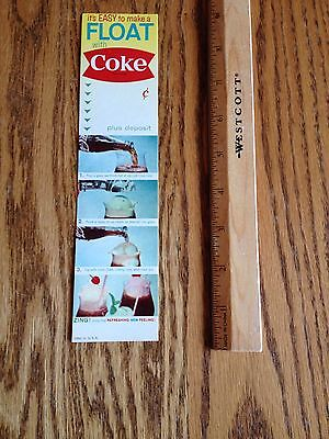 1950's Coca Cola Bottle Carton Inserts Coke NEW OLD STOCK