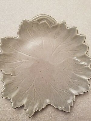 Woodfield Grey Gray Leaf Side Plates EXC Cond.