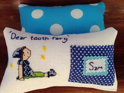 Handmade Tooth Fairy Pillow-boys or girls