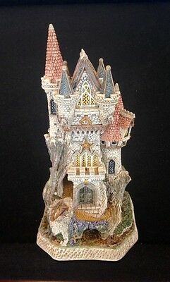 David Winter ~ WITCHES CASTLE ~ MIB COA ~ LIMITED EDITION~SIGNED BY DAVID WINTER