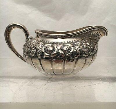 Gorham Sterling Repousse Cream pitcher