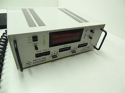 Netcom Systems Et-1000 802.3 Ethernet Tester Simulator Analyzer