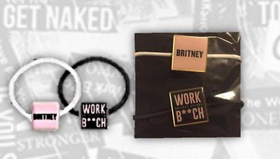 """Britney Spears Official Live In Concert 2017 """"BRITNEY / WORK BITCH"""" Hair bands"""