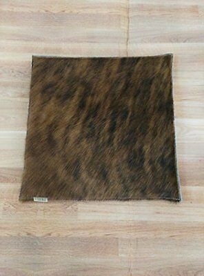 100% Leather cushion. Pekary. 14x14 in. 100% Natural. Perfect for decoration.