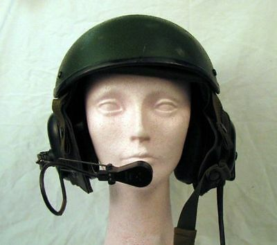 Preowned Black CVC Helmet Large DH-132B and Pre-own BOSE Communication Headset