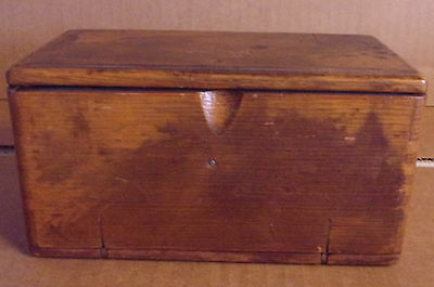 Antique Singer Sewing Wooden Puzzle Box 1889 W/ Attachments Treadle