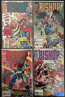 BISHOP #1-4 Full Series 1994 Marvel Comics X-Men Limited Series NM bagged Boards