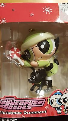 Powerpuff Girls Buttercup Christmas Ornament Cartoon Network 2003