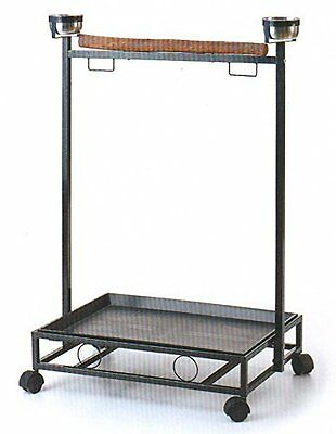NEW Large Parrot Bird Play Stand Play Gym Play Ground Rolling Stand 168