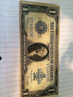 One Dollar Silver Certificate Year 1923, UNCIRCULATED