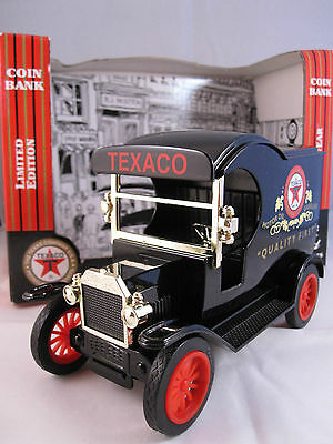 Limited Edition 1912 Ford Texaco Coin Bank~Gearbox