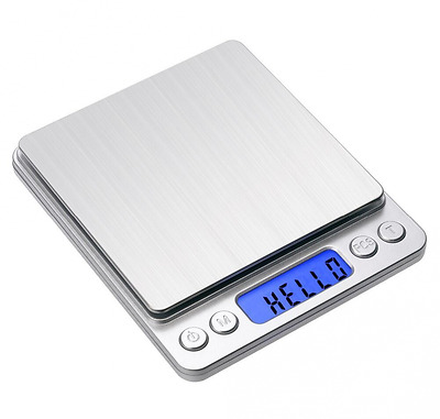 IDAODAN Digital Kitchen and Food Scale, 0.01oz/0.1g 3000g Pocket Gram Scale with