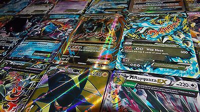 Pokemon TCG 100 CARD LOT RARE, 10xHOLO & GUARANTEED EX, MEGA, GX OR FULL ART