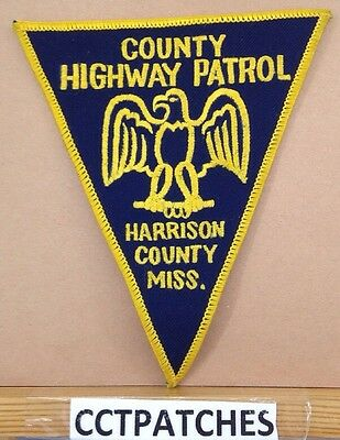Harrison County, Mississippi Highway Patrol (Police) Shoulder Patch Ms