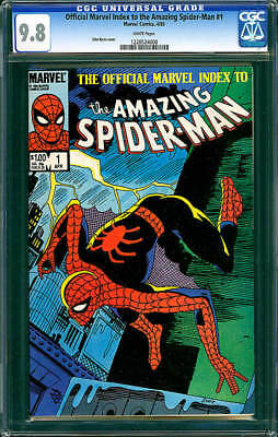 Official Marvel Index To The Amazing Spider-Man #1 Nm/m 9.8
