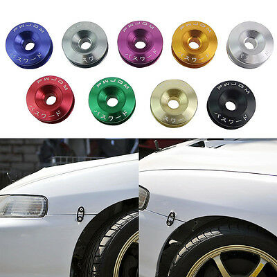 Car Quick Release Fasteners Ideal For Front Bumpers Rear Bumpers With JDM Logo L