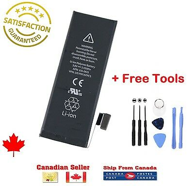 Brand NEW Original OEM Replacement iPhone 5SE Battery 1624 mAh With Free Tools