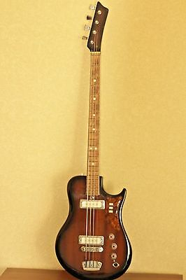 URAL BASS Guitar Vintage made in USSR GOOD+++
