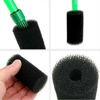 Aquarium Fish Tank Black Cotton Filter Foam Sponge Pond Protector UK