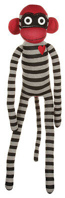 New Matt Blatt Zorro Sock Monkey Cotton Multi