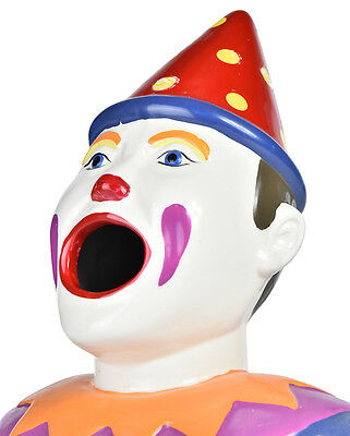 New Matt Blatt Carnival Clown Money Bank  Multi
