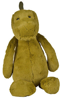 New Matt Blatt Boris The Dinosaur Plush Toy Fabric Green