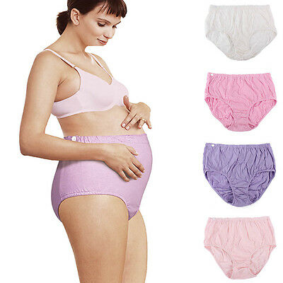 Ladies Box Pregnant Maternity Women Underwear Underpant Panties Lingerie Brief