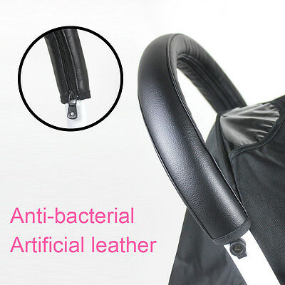 Artificial Leather Sleeve Cover of Handlebar Bumper For Babyzen YOYO Stroller