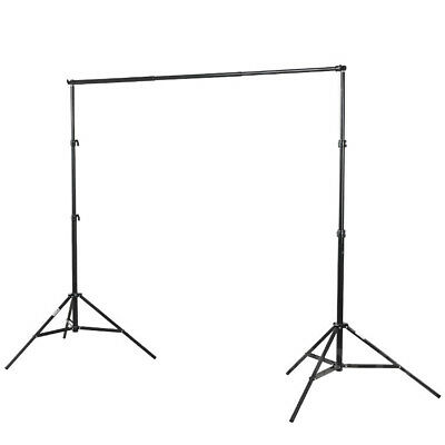 Phot-R 2x2m Studio Backdrop Background Support System Stand Telescopic Crossbar