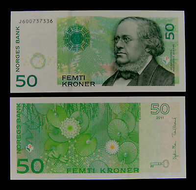 Norway Banknote 50 Kroner 2011 Uncirculated