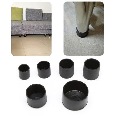 4pcs Rubber Chair Ferrule Anti Scratch Furniture Feet Leg Floor Protector Caps