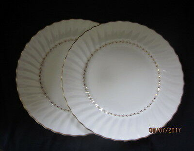 Royal Doulton Adrian H5816 2 X Dinner Plates Excellent Condition Free Postage