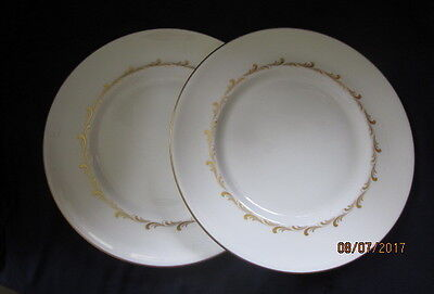 Royal Doulton Rondo H4935 2 X Dinner Plates Excellent Condition