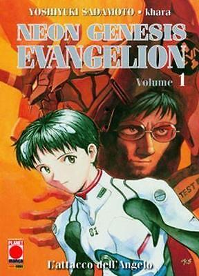 Neon Genesis Evangelion 1 New Collection Ristampa - Planet Manga Panini - Nuovo