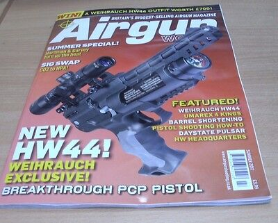 AIrgun World magazine SUMMER 2017 Hardman & Garvey, Weihrauch HW44, Umarex 4 Kin
