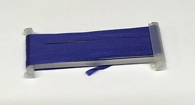 YLI Silk Ribbon 4mm x 3m - Shade 118 - Dark Periwinkle