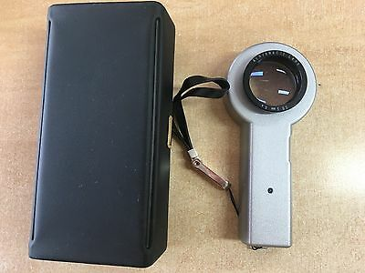 Handheld 5x magnifier loupe with illuminated LED light