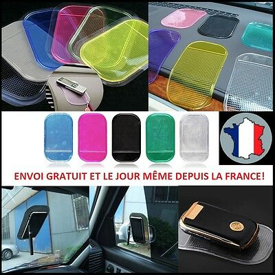 Tapis Antiderapant Voiture Smartphone Silicone Iphone Support Cuisine Collant