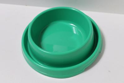 Large Dog puppy cat kitten pet ant free food bowl dish DHY-014L GREEN