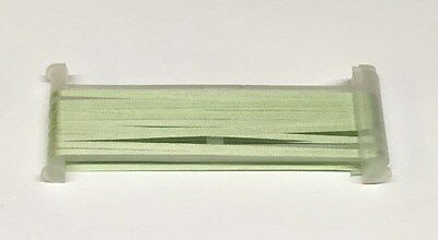 YLI Silk Ribbon 2mm x 3m - Shade 031 - Light Sage