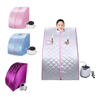 Portable Steam Home Sauna Spa Bath Heater Beauty Weight Loss Slimming Four Color