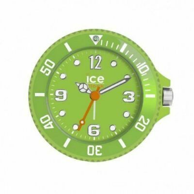 Ice-Clock Travel Alarm Clock Green 90mm In A Case