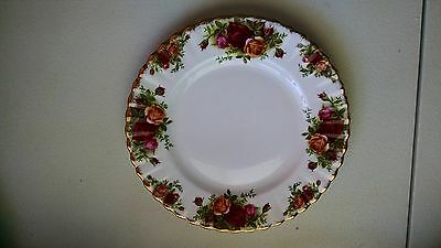 Vintage Royal Albert Old Country Roses Salad Plate 8 Inch Estate Pc ~~~~