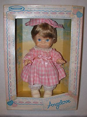 "11"" Vintage ""Angelove"" Horsman Doll Made For Hallmark 1978 W/Box"