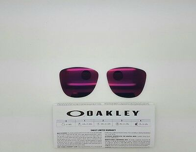 Oakley FROGSKINS lenti ricambio colore torch  iridium model 9013 cal 55 ORIGINAL
