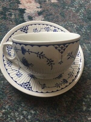 Lovely Furnivals Denmark Cup And Saucer