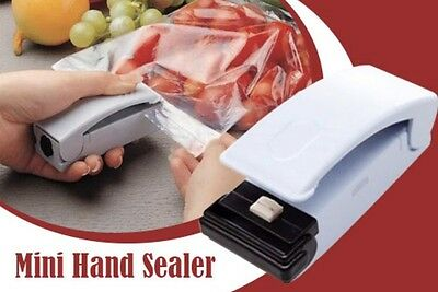 Re-Chargeable Plastic Bag Sealer Hand Held Magnetic New As Seen On Tv